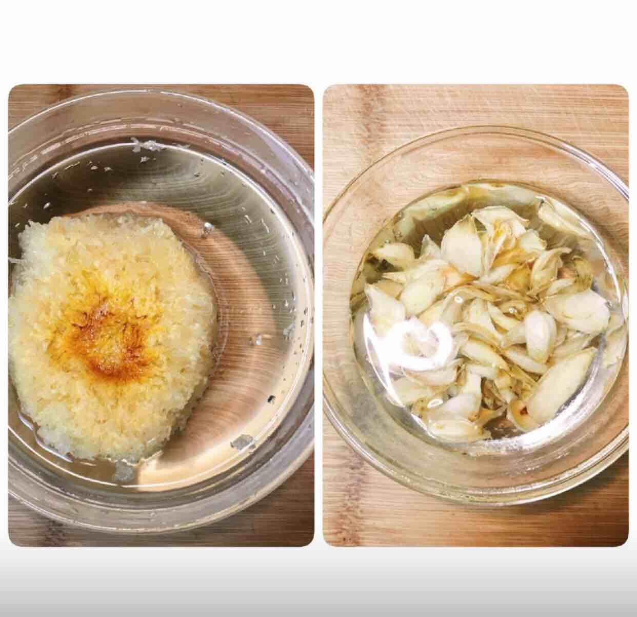 桃胶皂角百合银耳红枣羮的家常做法