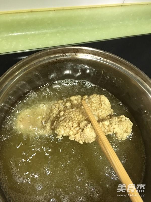 鸡肉汉堡的制作方法