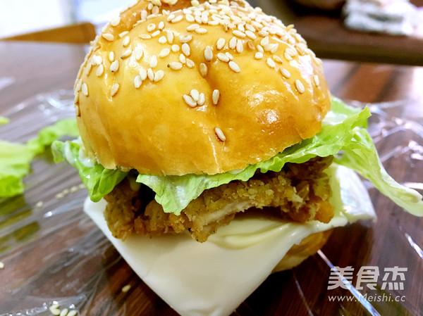 鸡肉汉堡的做法大全