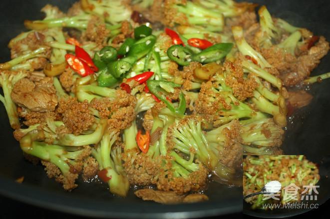 干锅菜花怎么做