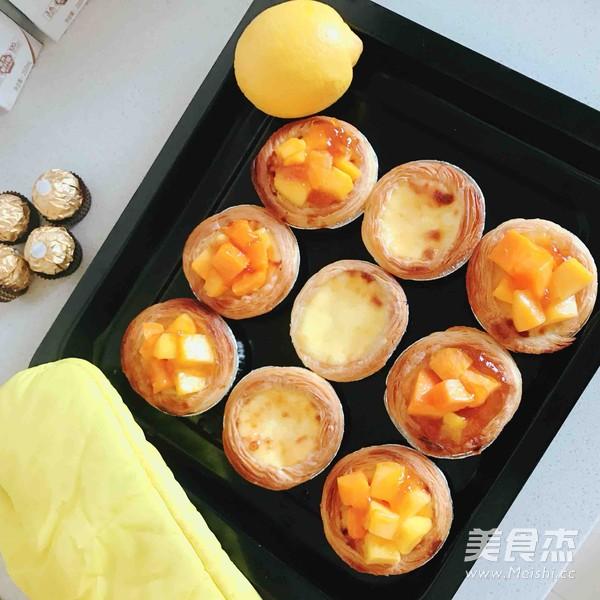 芒果蛋挞的家常做法
