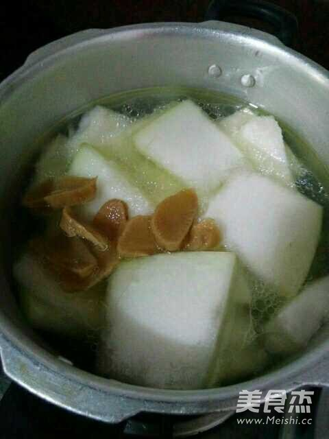 鸭肉冬瓜汤的简单做法