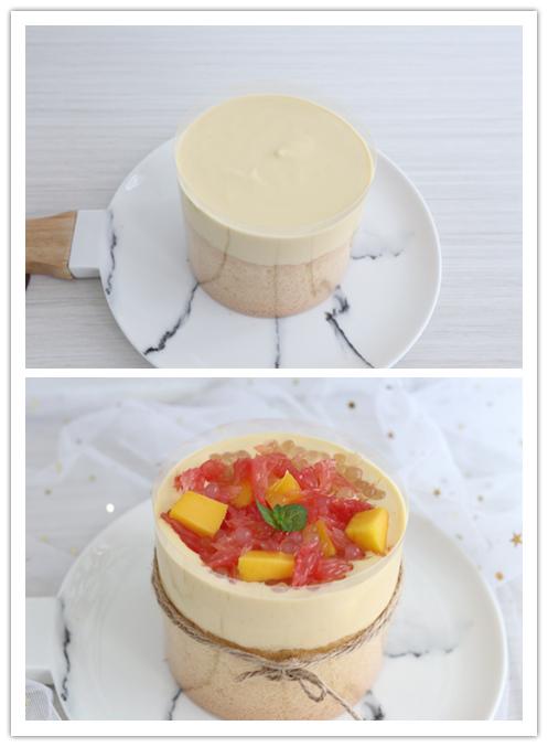 杨枝甘露爆浆蛋糕的简单做法