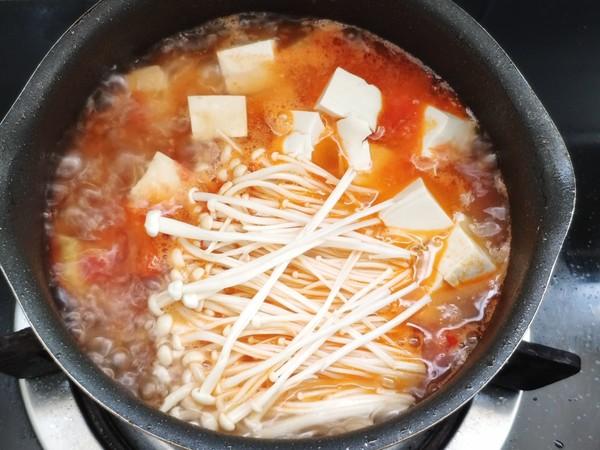 番茄豆腐汤的简单做法