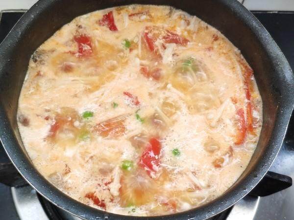 番茄豆腐汤怎么吃