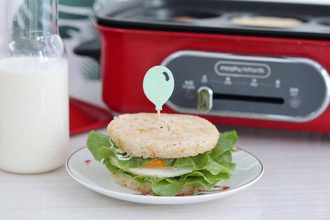 米汉堡怎么做