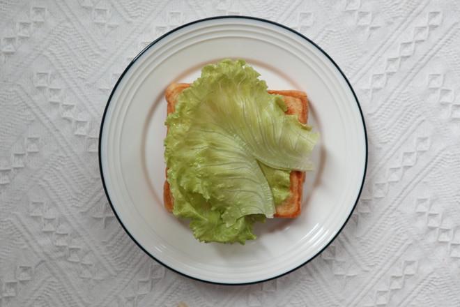 开放式三明治的简单做法
