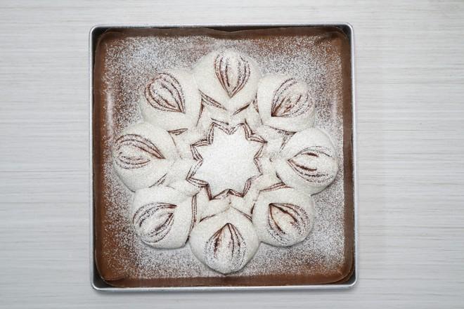 #冬至大如年#+雪花面包怎么煮