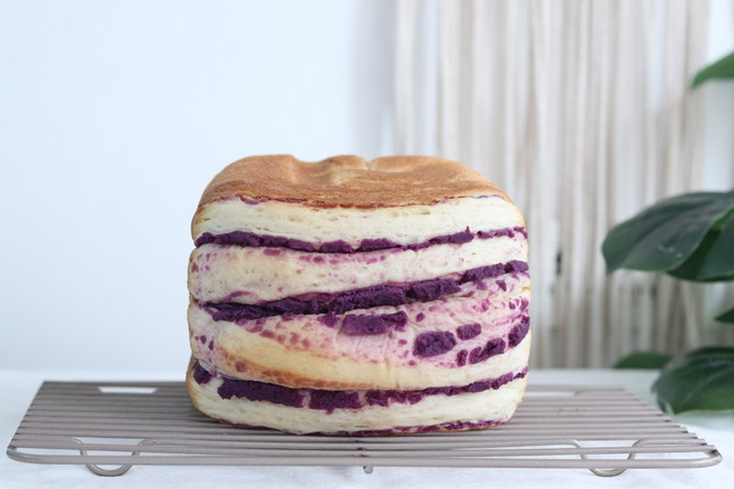 面包机紫薯吐司怎么煸