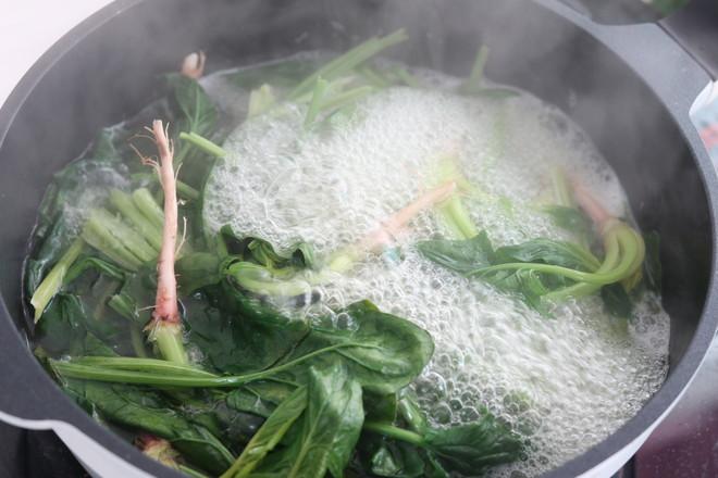 菠菜拌粉丝的做法大全