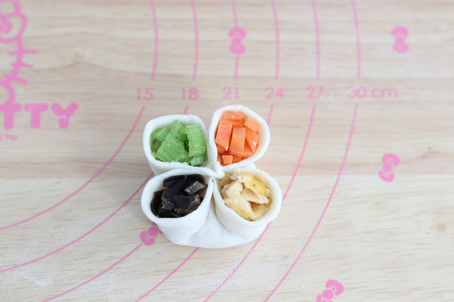 四喜蒸饺怎么吃