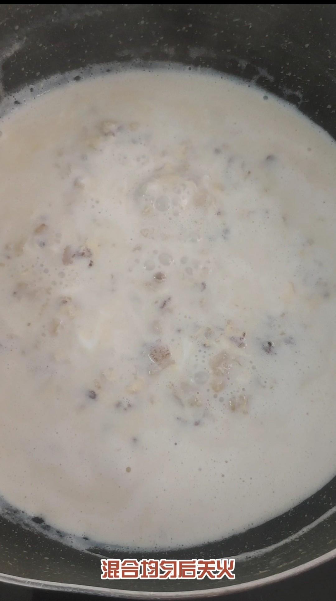 鸡蛋燕麦粥怎么炒