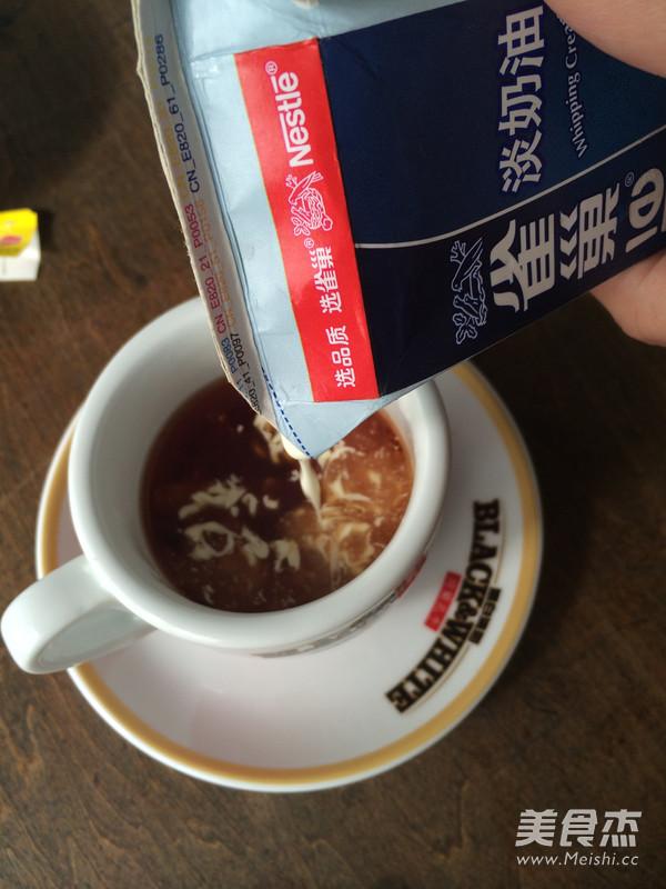 香郁英式奶茶的步骤