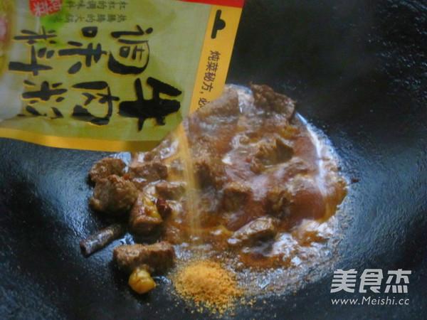 土豆炖牛肉的简单做法