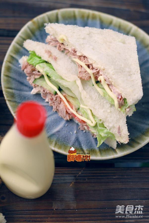 自制三明治怎样炒