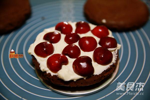 黑森林裸蛋糕的步骤