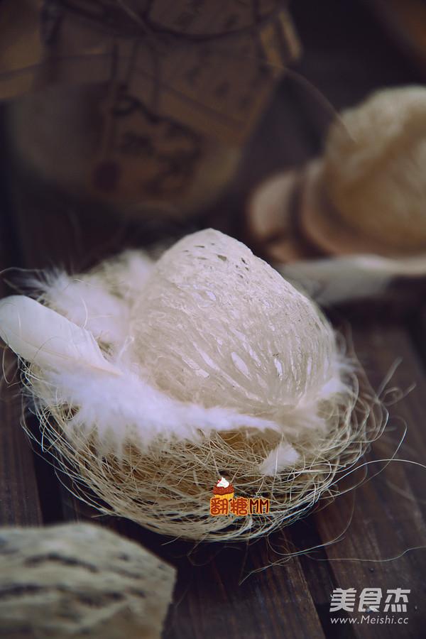 养生冰糖椰浆燕窝的做法大全