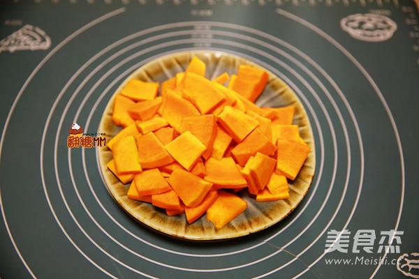 咸蛋黄焗南瓜的家常做法