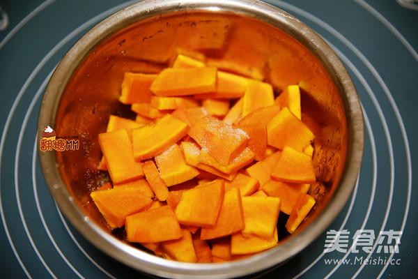 咸蛋黄焗南瓜的简单做法