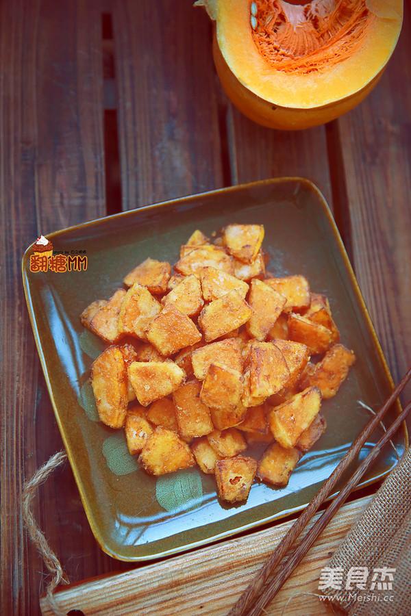 咸蛋黄焗南瓜怎样炒