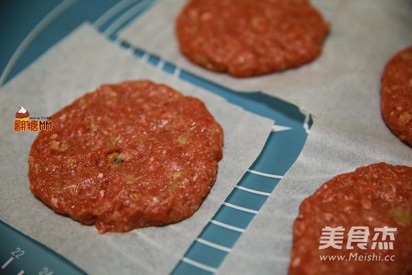 手工牛肉汉堡排怎么煮