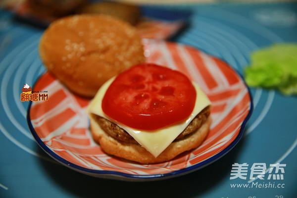 手工牛肉汉堡排怎样炒