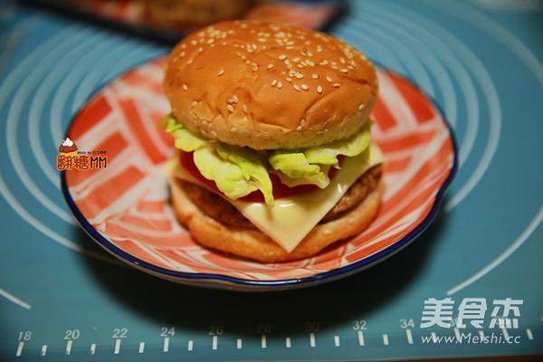 手工牛肉汉堡排怎样煮