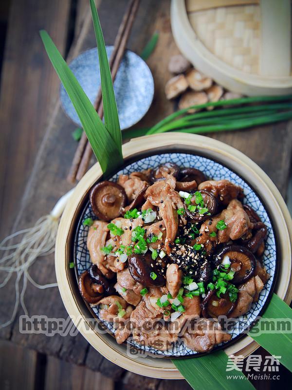 香菇蒸滑鸡怎么炒
