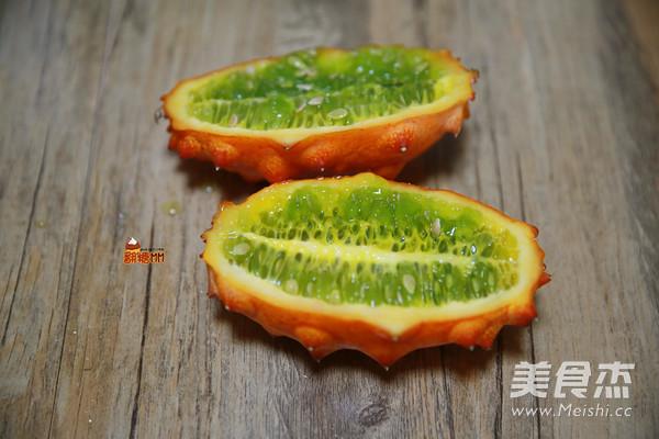 热带水果综合果汁的步骤
