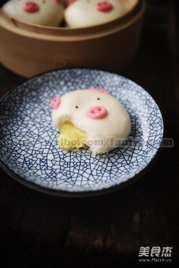 猪猪流沙包成品图