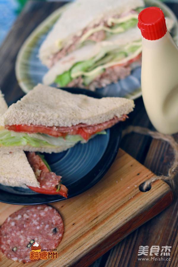 自制三明治怎样煮