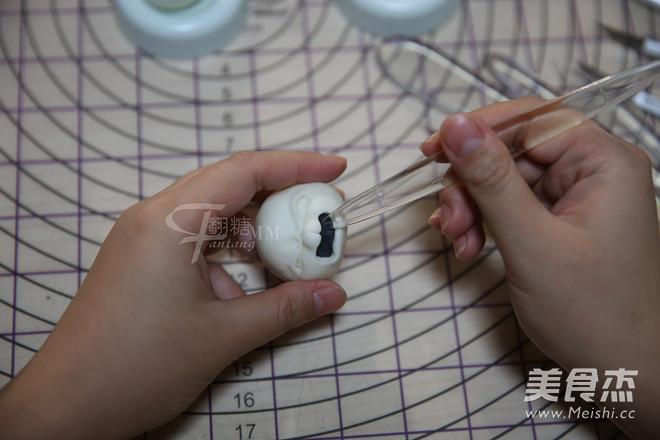 翻糖兔子玩偶制作怎样做