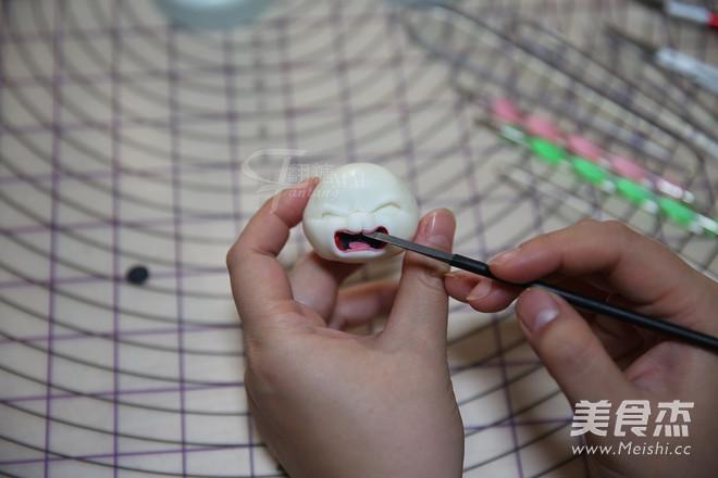 翻糖兔子玩偶制作的制作
