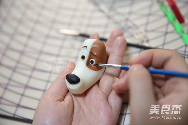翻糖狗狗动物玩偶制作怎样煸
