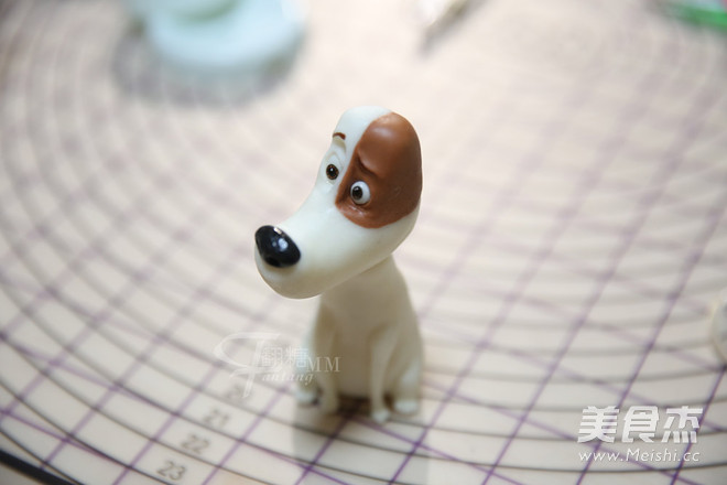 翻糖狗狗动物玩偶制作的做法大全