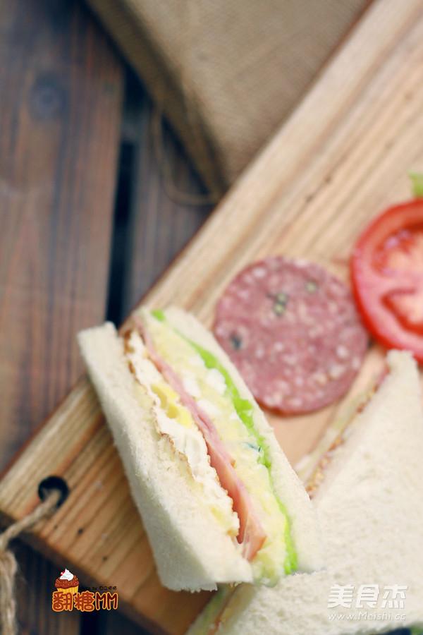 自制三明治怎样做