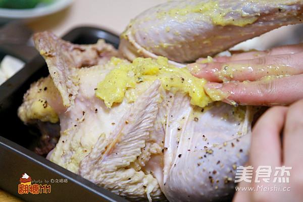 圣诞家庭烤鸡大餐怎么吃