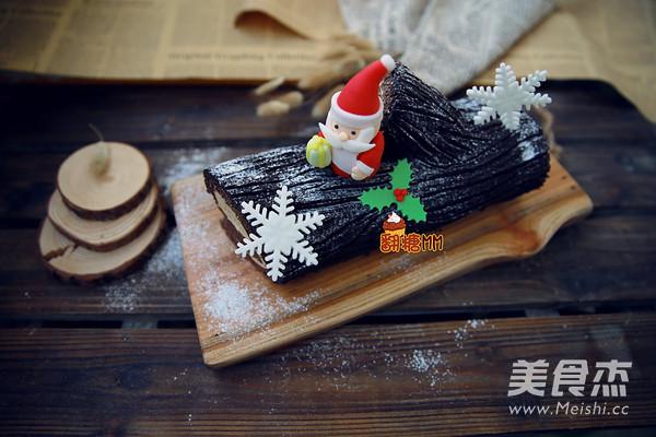 圣诞树根蛋糕的做法大全