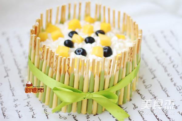 榴莲千层蛋糕成品图