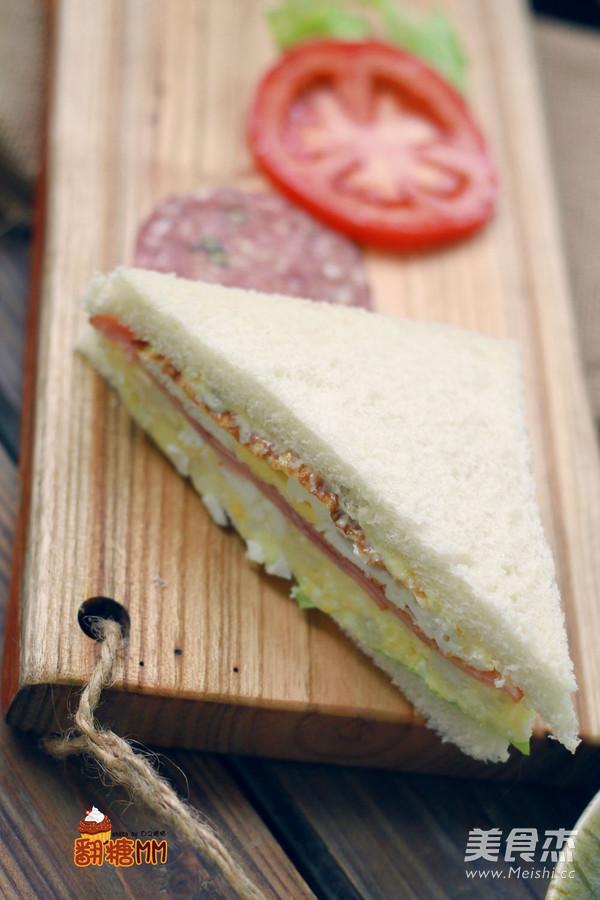 自制三明治怎样煸