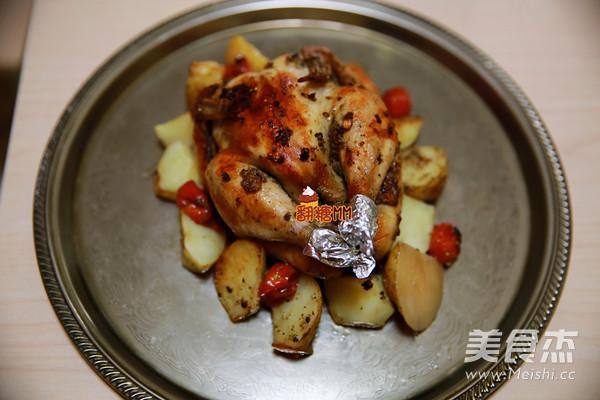 圣诞迷迭香烤鸡怎样煮