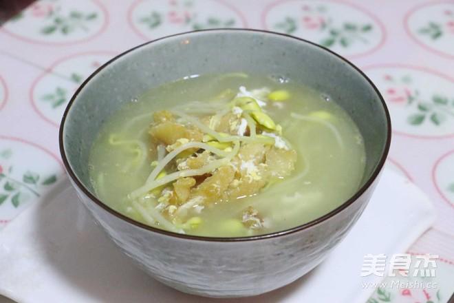 黄豆芽明太鱼汤怎样做
