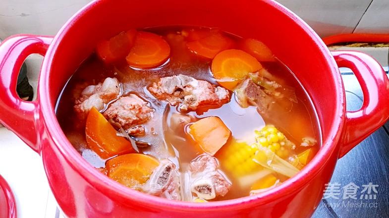 玉米排骨汤怎样煸