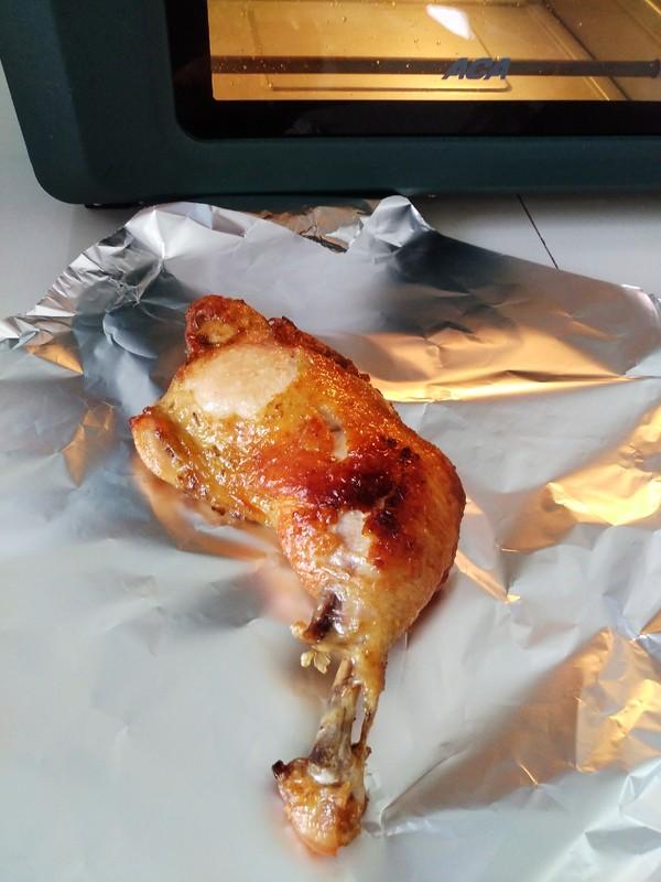 空气炸烤箱烤鸡腿怎么炒