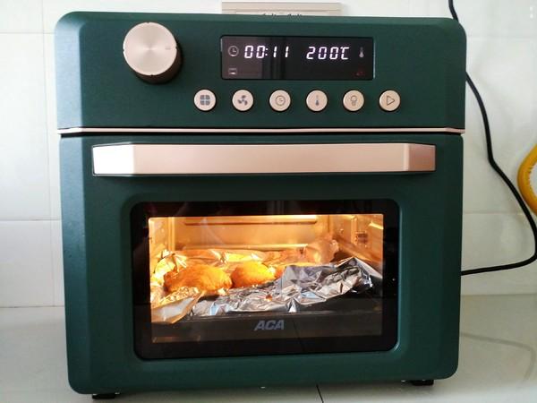 空气炸烤箱烤鸡腿的简单做法