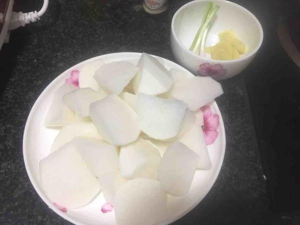 简版白萝卜排骨汤的做法图解