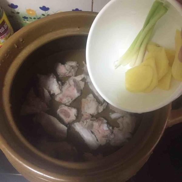 简版白萝卜排骨汤的简单做法