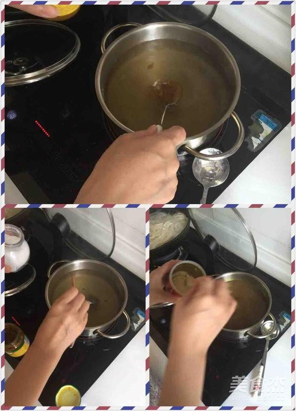 咖喱牛肉汤面的做法图解