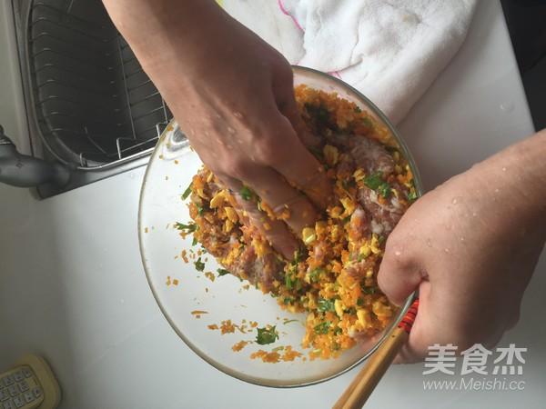 胡萝卜鸡蛋水饺怎么吃