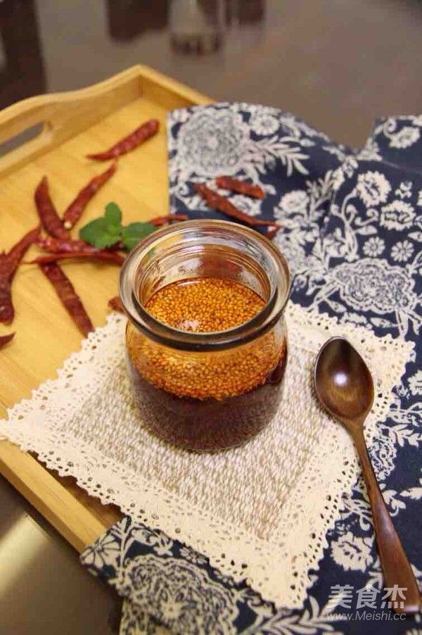 辣椒油成品图